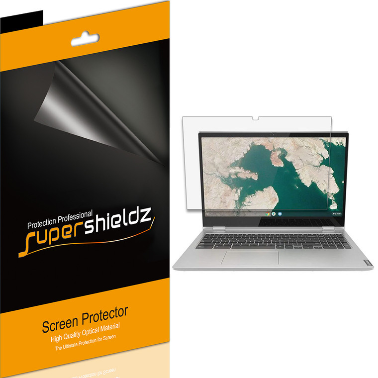 [3-Pack] Supershieldz for Lenovo Chromebook C340 15 inch Screen Protector, Anti-Glare & Anti-Fingerprint (Matte) Shield