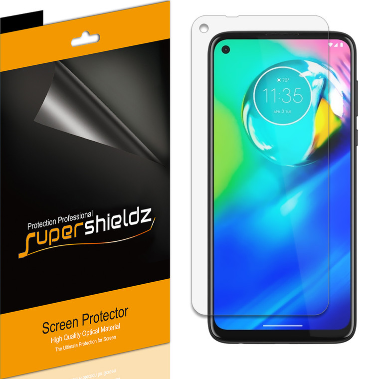[6-Pack] Supershieldz for Motorola Moto G Stylus Screen Protector, Anti-Bubble High Definition (HD) Clear Shield