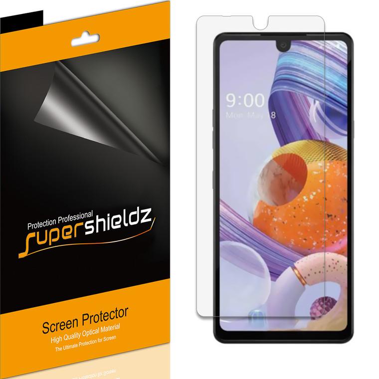 [6-Pack] Supershieldz for LG Stylo 6 Screen Protector, Anti-Glare & Anti-Fingerprint (Matte) Shield