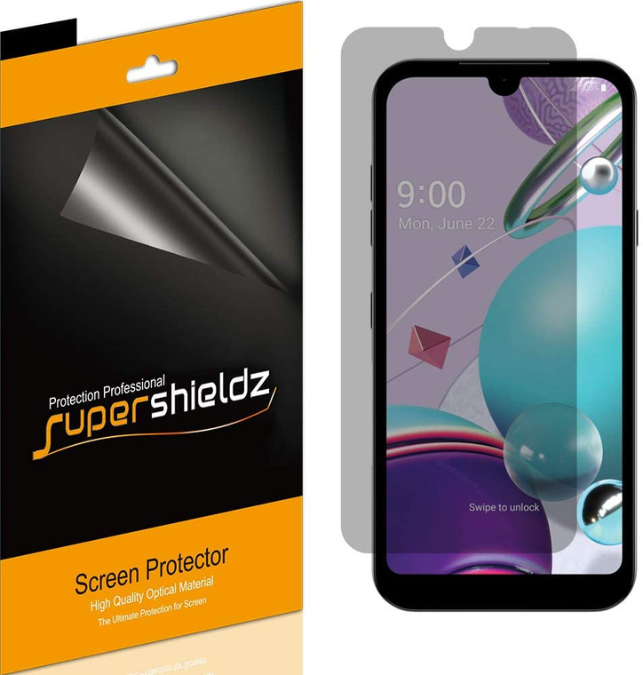 [2-Pack] Supershieldz for LG Fortune 3 Privacy (Anti-Spy) Screen Protector Shield