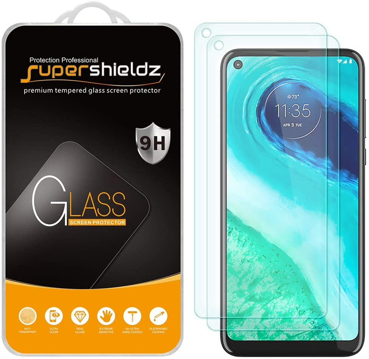 750x Supershieldz for Motorola (Moto G Fast) Tempered Glass Screen Protector, Anti-Scratch, Anti-Fingerprint, Bubble Free (No Retail Packaging)