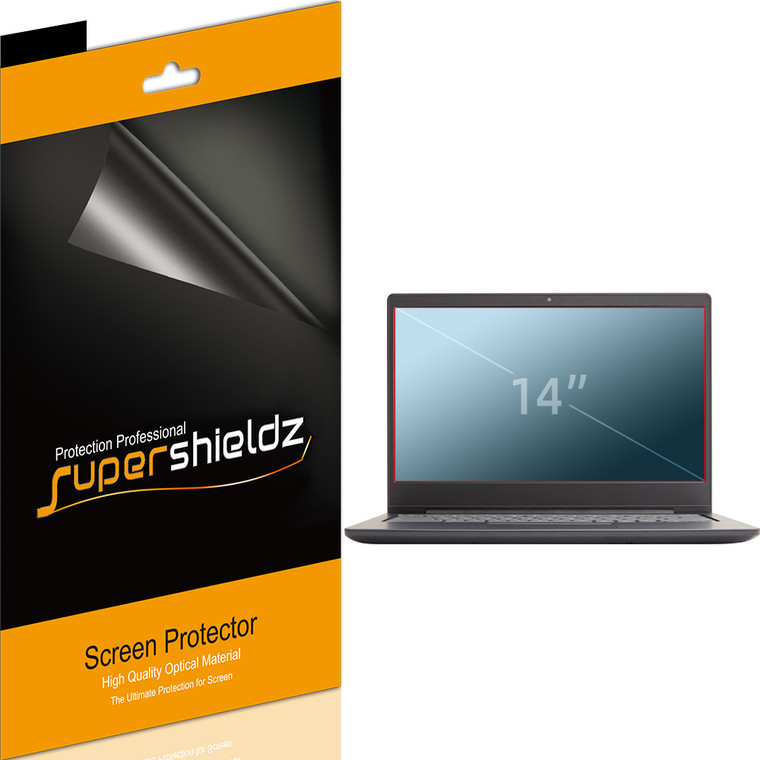 [3-Pack] Supershieldz for Universal 14 inch with 16:9 Aspect Ratio Laptop Screen Protector, (309.59mm x 173.78mm), Anti-Bubble High Definition (HD) Clear Shield
