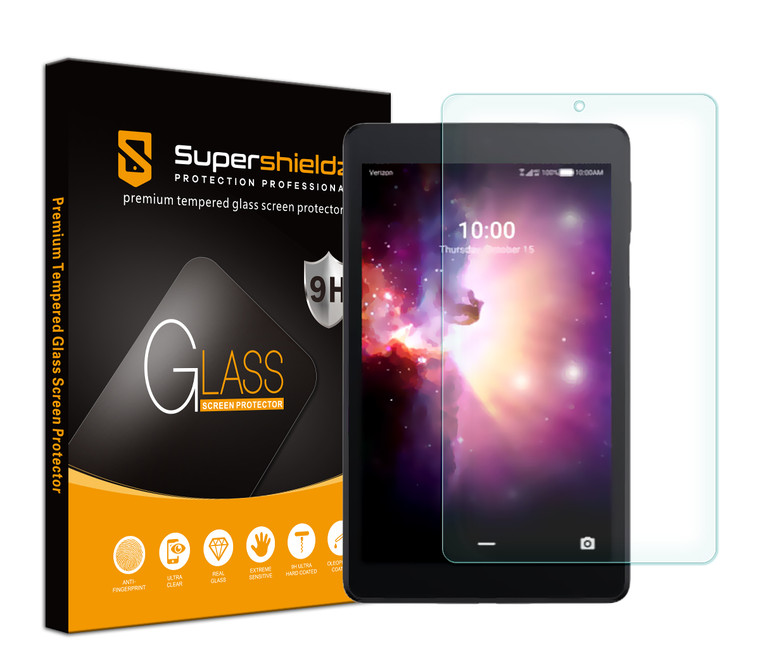 [1-Pack] Supershieldz for TCL Tab 8 inch / TCL Tab Family Edition 8 inch Tablet Tempered Glass Screen Protector, Anti-Scratch, Anti-Fingerprint, Bubble Free