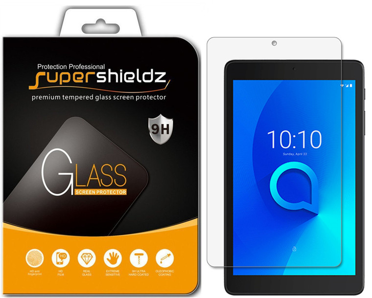 [2-Pack] Supershieldz for TCL Tab 8 inch / TCL Tab Family Edition 8 inch Tablet Tempered Glass Screen Protector, Anti-Scratch, Anti-Fingerprint, Bubble Free