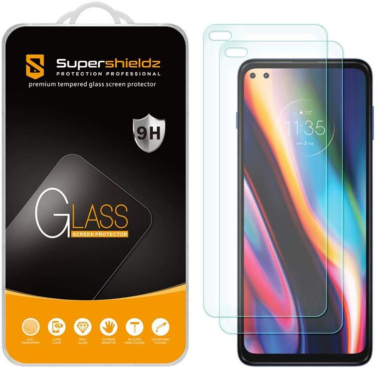 100x Supershieldz for Motorola One 5G / One 5G UW (XT2075) Tempered Glass Screen Protector, Anti-Scratch, Anti-Fingerprint, Bubble Free (No Retail Packaging)