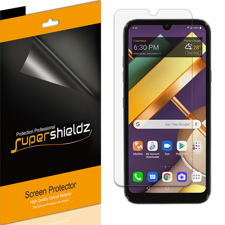 [6-Pack] Supershieldz for LG Xpression Plus 3 Screen Protector, Anti-Glare & Anti-Fingerprint (Matte) Shield
