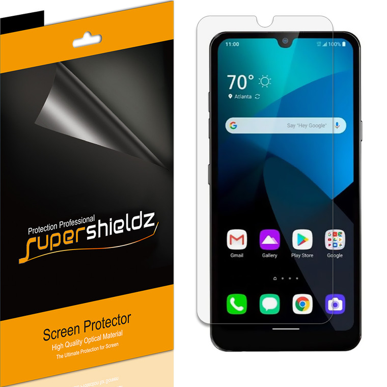 [6-Pack] Supershieldz for LG Xpression Plus 3 Screen Protector, Anti-Bubble High Definition (HD) Clear Shield