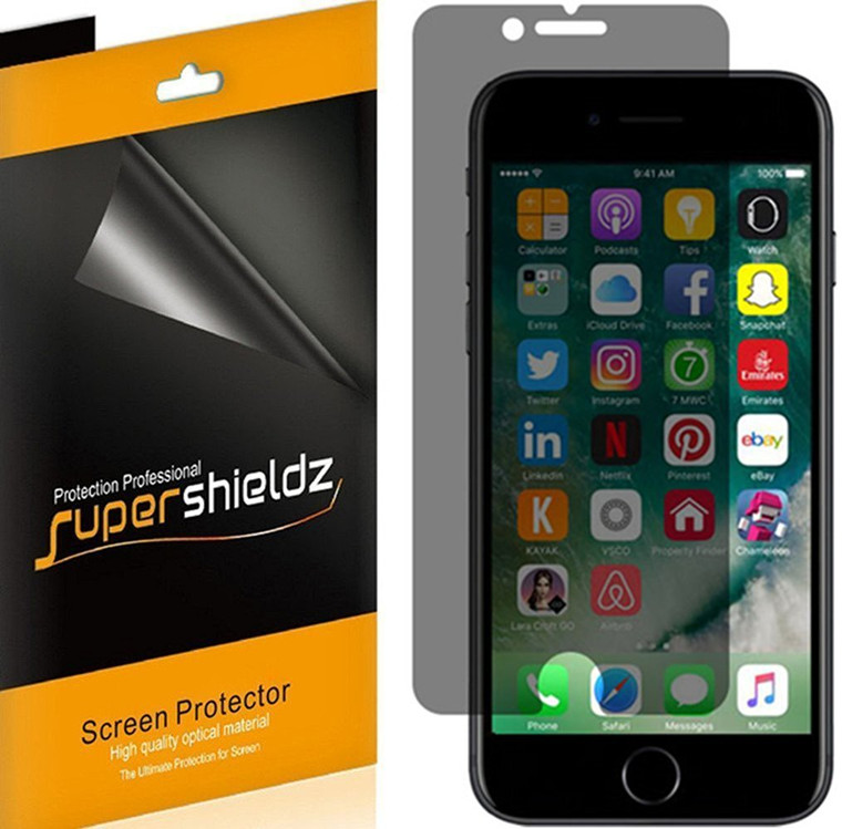 [2-Pack] Supershieldz for Privacy Anti-Spy Screen Protector for Apple iPhone 6 / 6S
