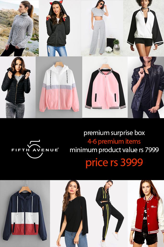 Fifth Avenue Women's PREMIUM Limited Edition Surprise Box Winter Edition