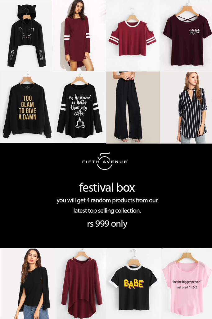 Fifth Avenue Women's Limited Edition Festival Tester Box - June 2018 Edition