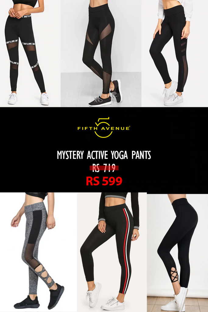 Fifth Avenue Women's Mystery Mania - Mystery Active Yoga Pants