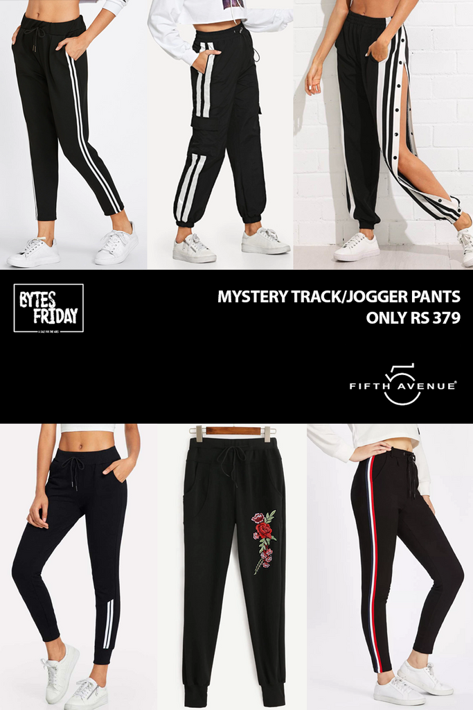 Fifth Avenue Women's Mystery Mania BYTES FRIDAY Deal - Mystery Track/Jogger Pants