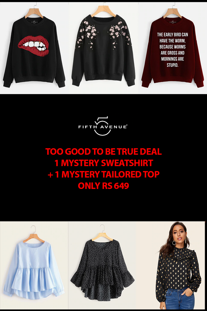 Fifth Avenue Women's Mystery Mania BYTES FRIDAY Deal - Too Good To Be True