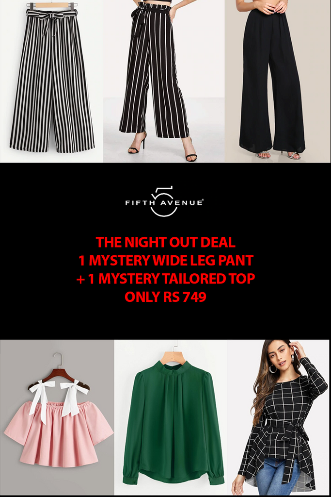 Fifth Avenue Women's Mystery Mania BYTES FRIDAY Deal - The Night Out Deal