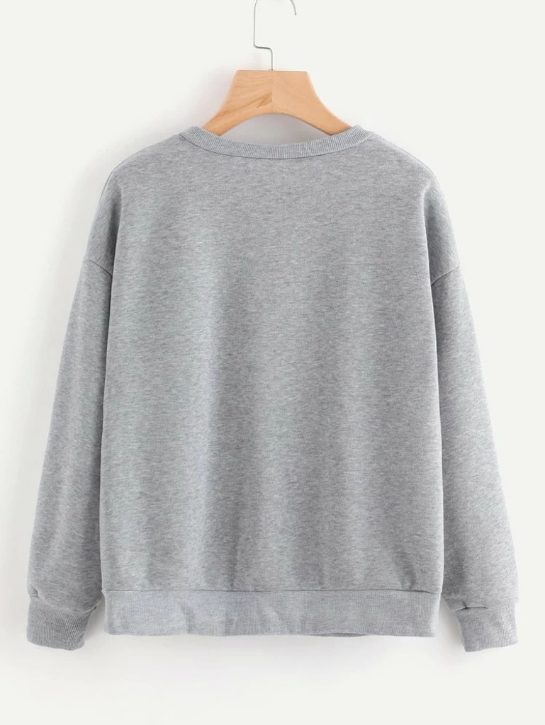 Fifth Avenue DIFT79 New York 199x Printed Sweatshirt - Grey
