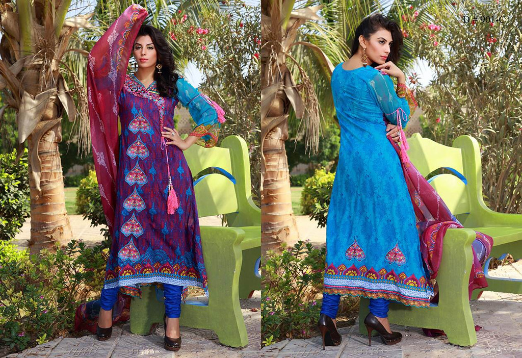 Artline Semi-Stitched Embroidered Design 901-C