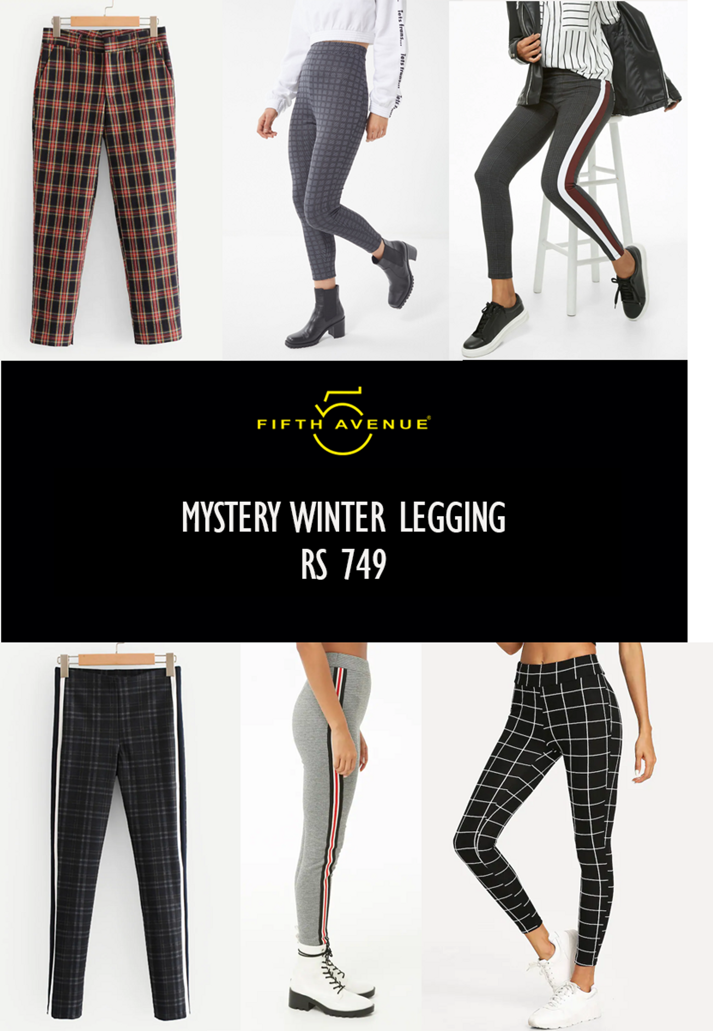 Fifth Avenue Women's Mystery Mania - Mystery Winter Leggings