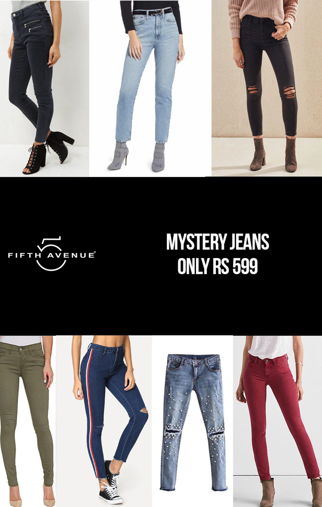 Fifth Avenue Women's Mystery Mania - Mystery Jeans