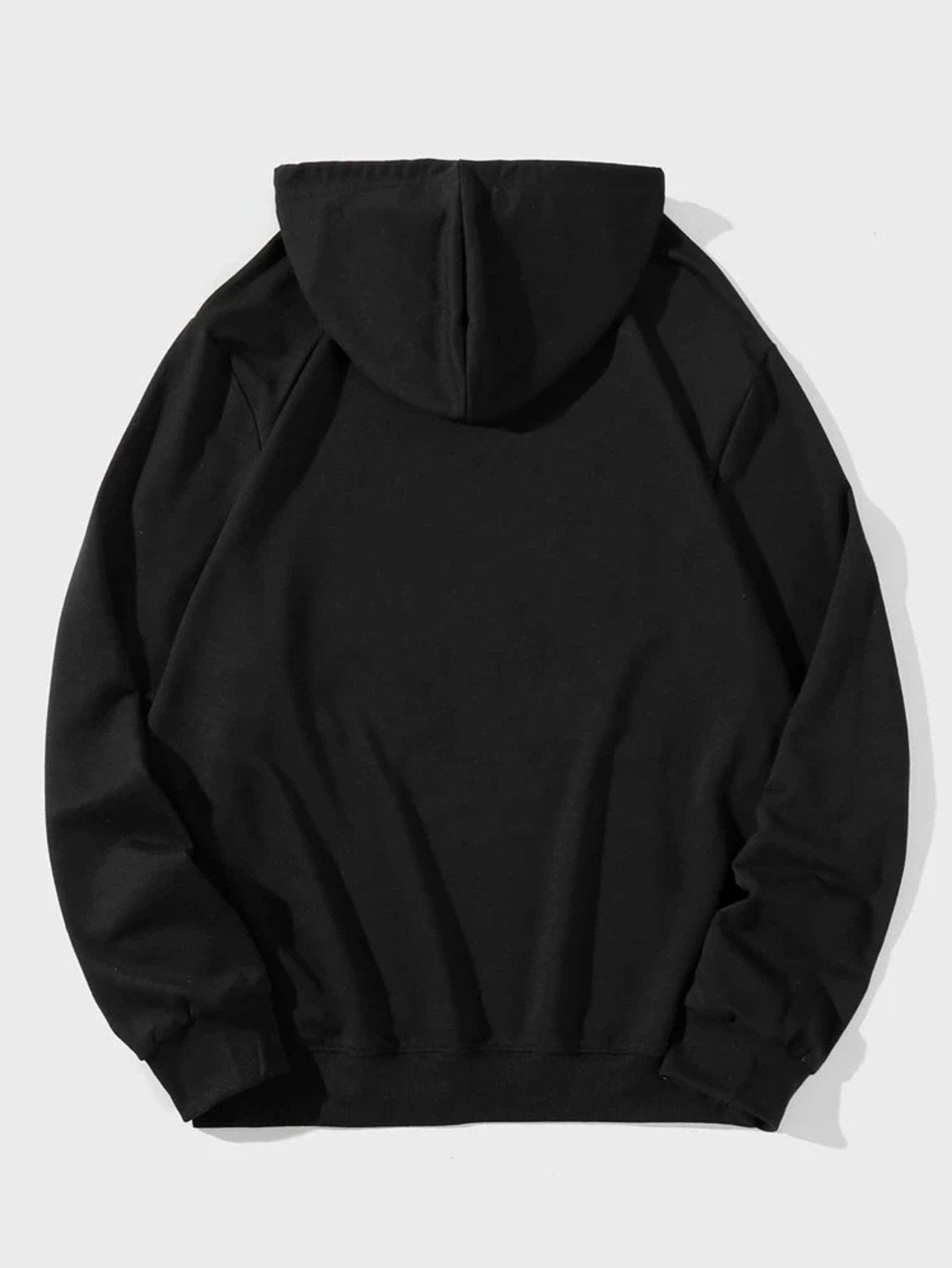 Fifth Avenue DIFT90 Astronaut Chilling Print Hoodie - Black