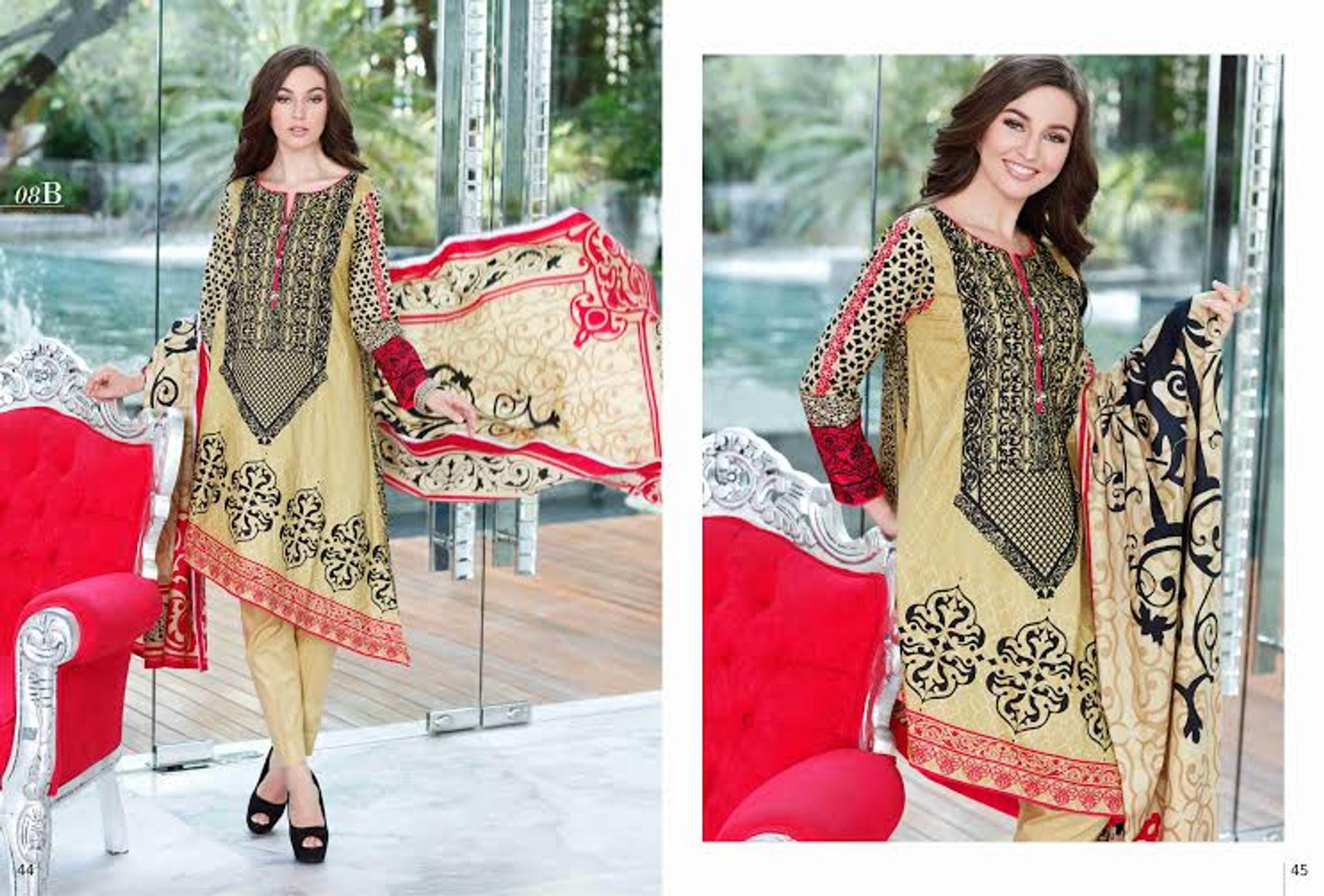 Mahnoor Eid Collection Design 08B