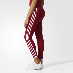 Fifth Avenue MZ Maroon Tri Striped Leggings