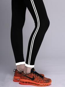 Fifth Avenue MZ Rava Contrast Leggings - Black and White