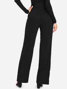 Fifth Avenue Women's NESS Tie Waist Pants - Black