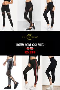 Fifth Avenue Women's Mystery Mania - Mystery Active Yoga Pants
