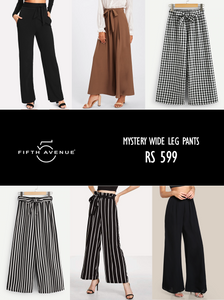 Fifth Avenue Women's Mystery Mania - Mystery Wide Leg Pants