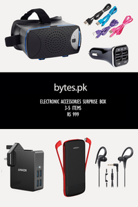 Bytes.pk Limited Edition Electronics Accessories Box