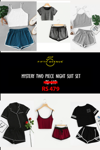 Fifth Avenue Women's Mystery Mania - Mystery Two Piece Nightsuit Set