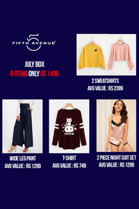 Fifth Avenue Women's Limited Edition July Box