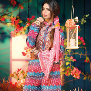 Amna Ismail Festival Collection - Pink - AIL-381-A