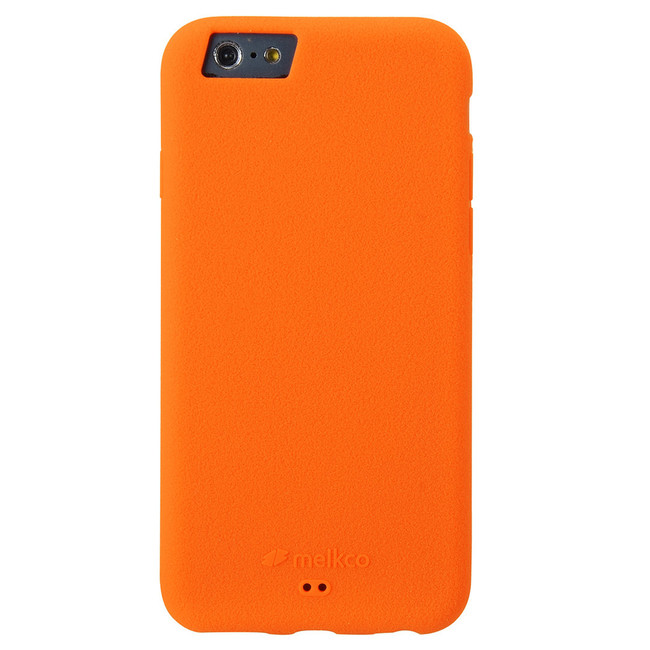 competitive price 00055 ba09c Melkco Silikonovy Silicone Case for Apple iPhone 6 / 6s - Orange