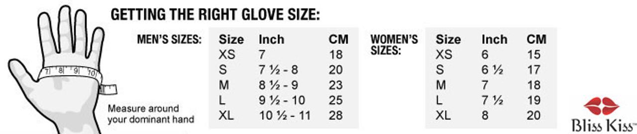 Glove Sizing Chart