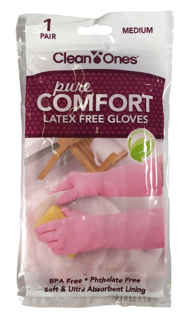 Clean Ones Latex-Free Household Gloves