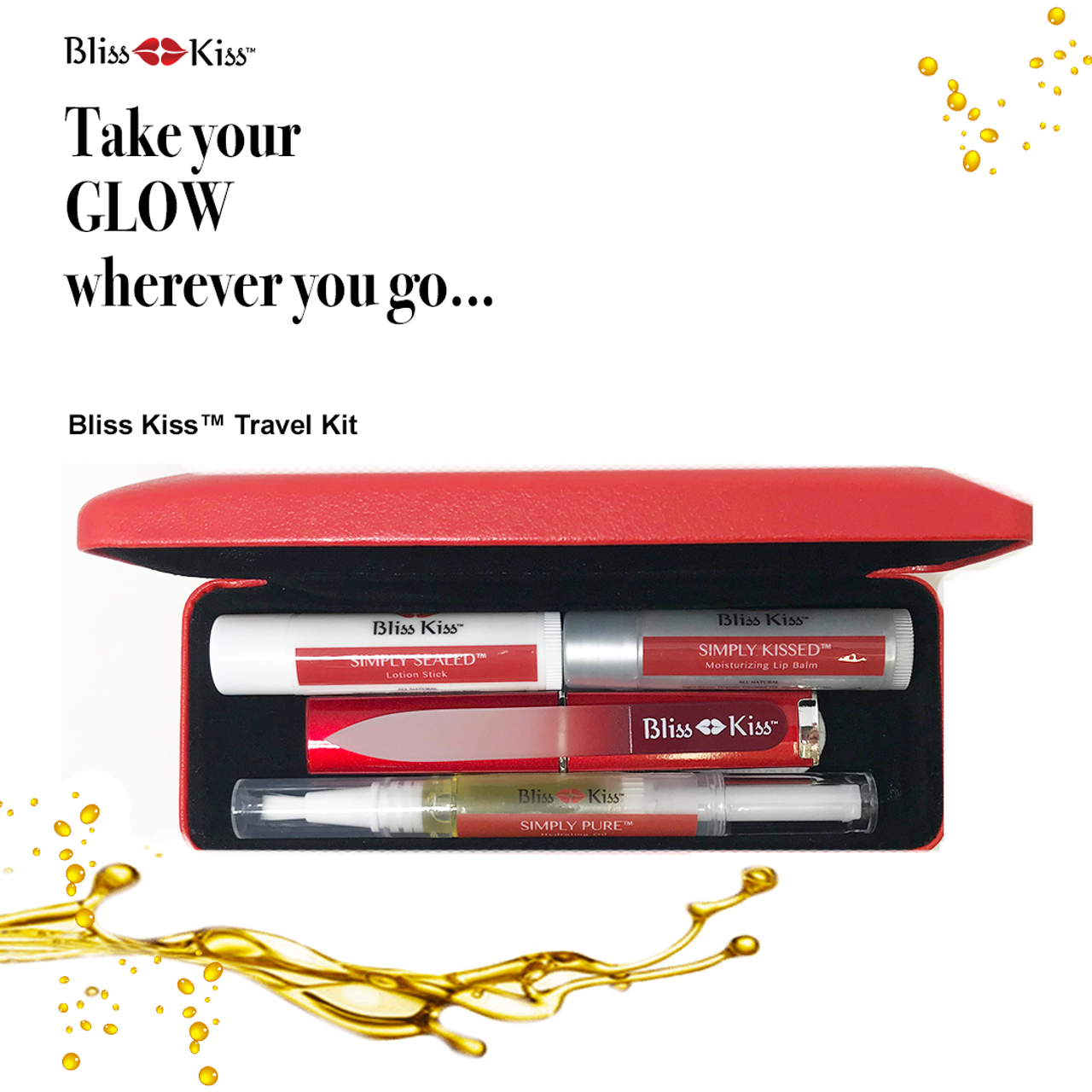 The Bliss Kiss™ Travel Kit