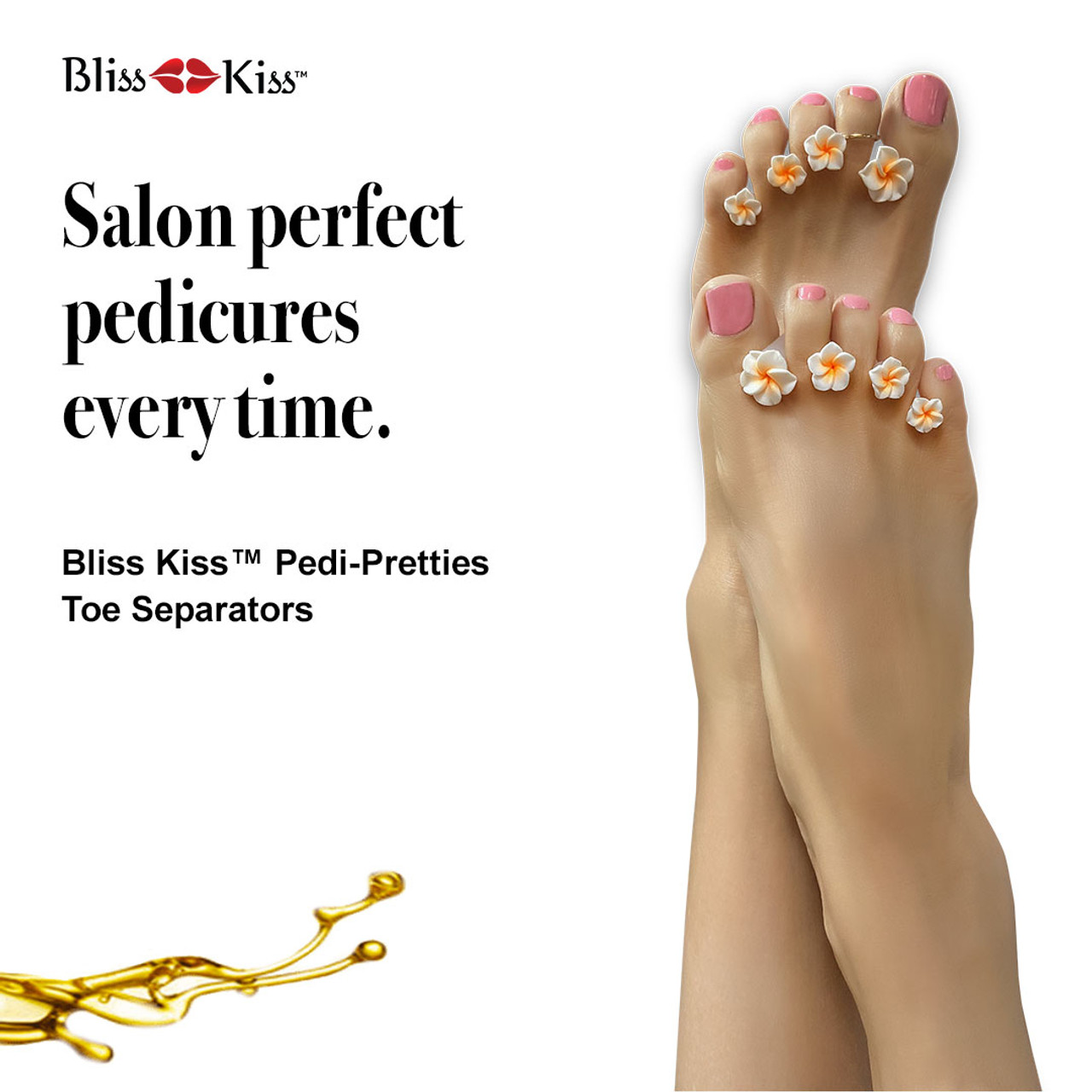 Pedi-Pretties™ Toe Spacers for Pedicures
