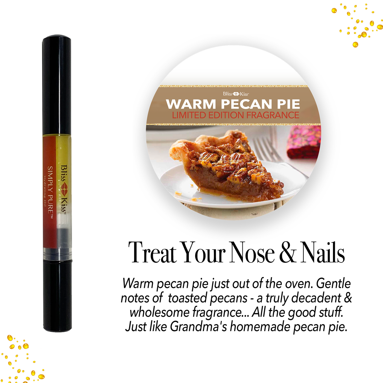 Simply Pure™ Hydrating Oil Pen - Warm Pecan Pie