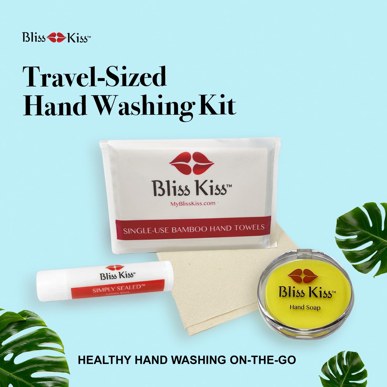 Towel, Soap, Lotion Stick Mini Kit