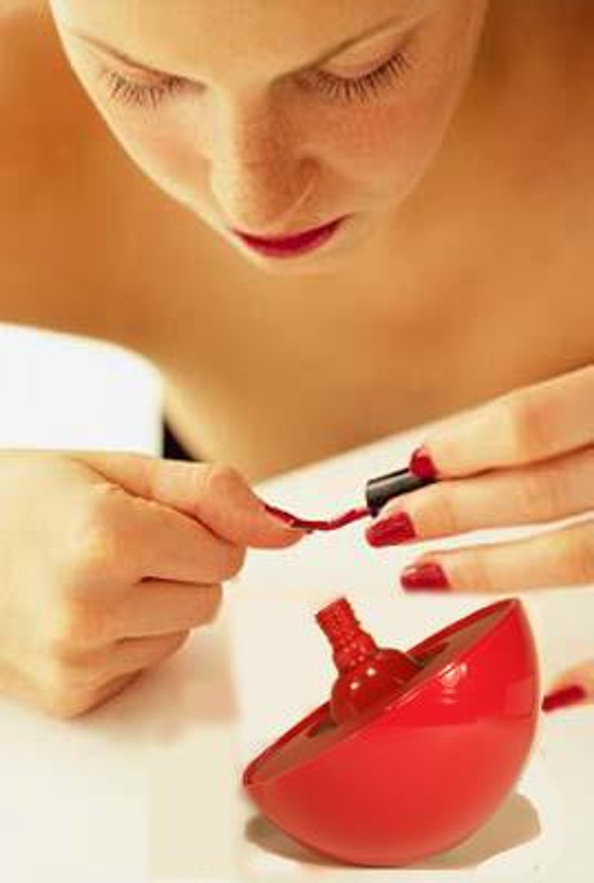 The LadyBug™ Spill-Proof Nail Polish Holder