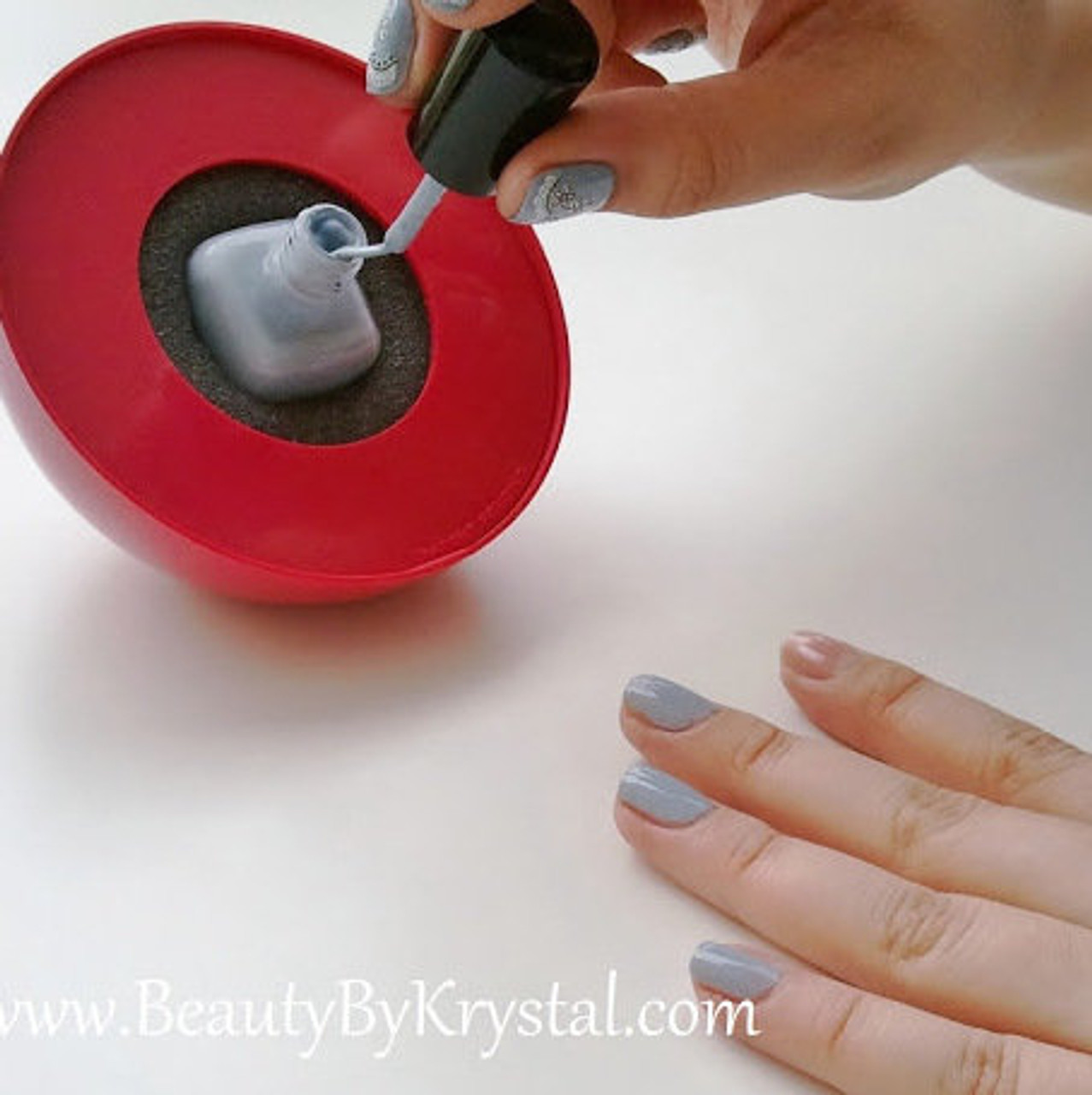 The LadyBug™ Spill-Proof Nail Polish Holder