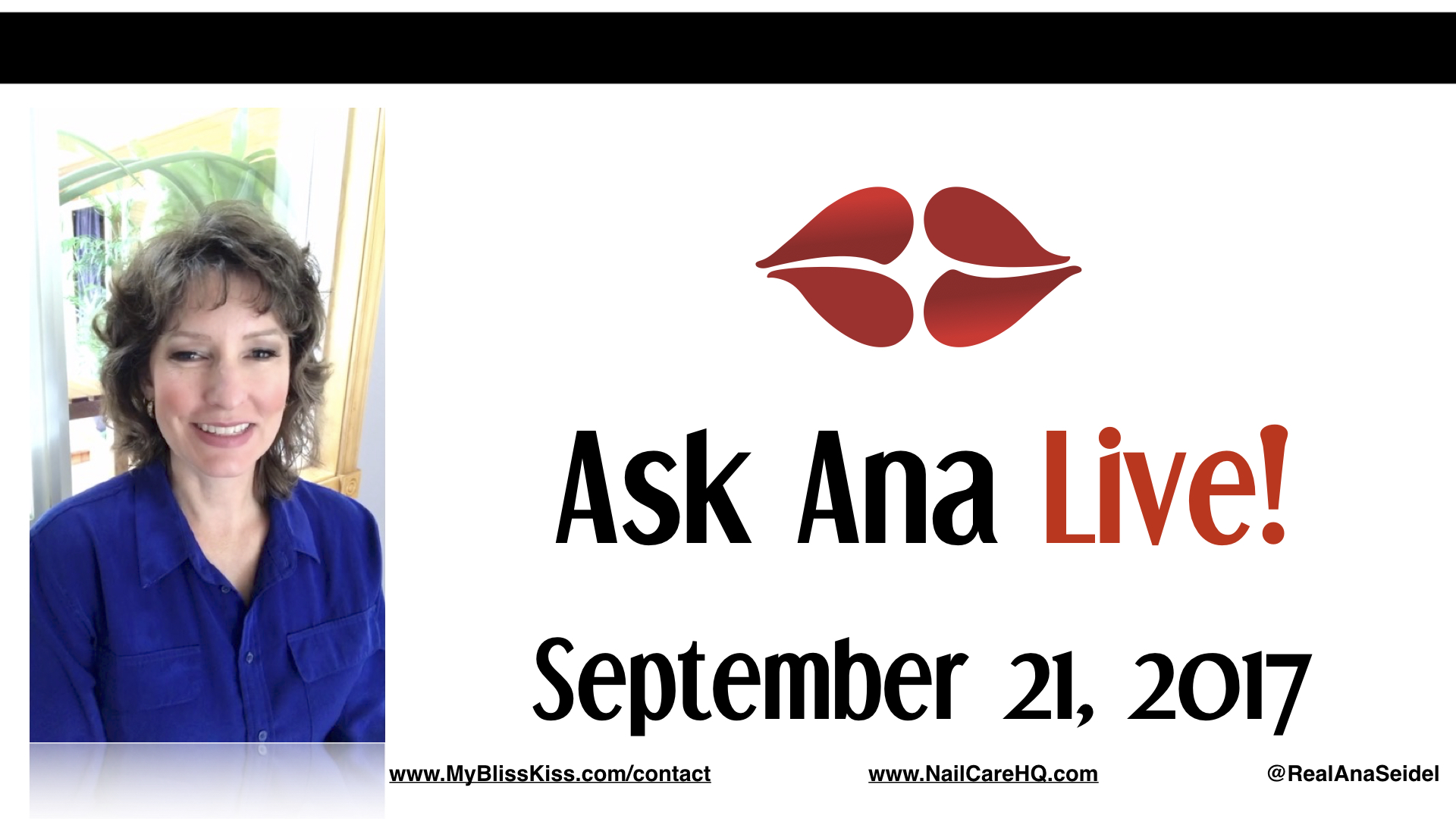 Ask Ana: Instagram Live Chat - September 21, 2017