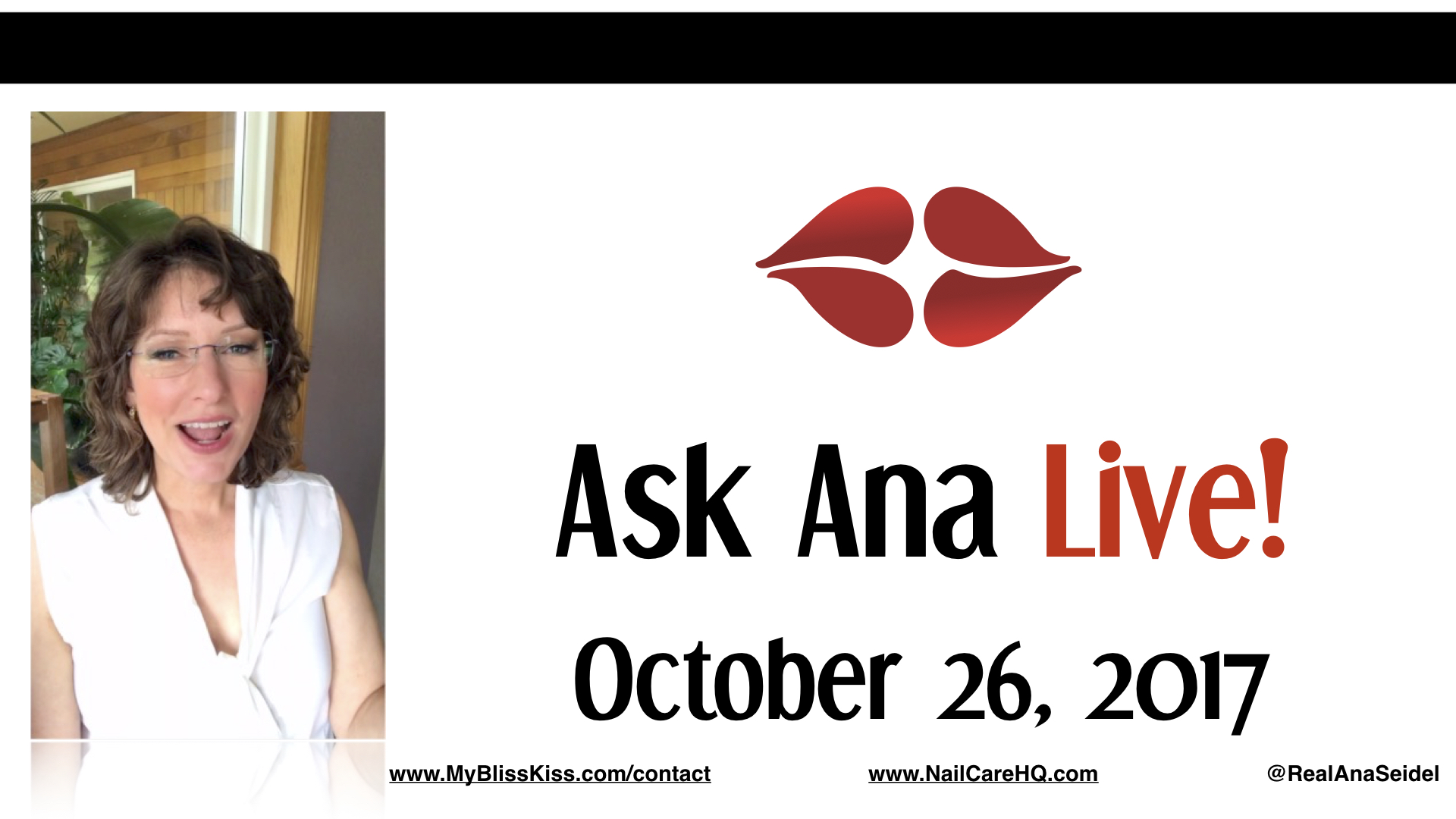 Ask Ana: Instagram Live Chat - October 26, 2017