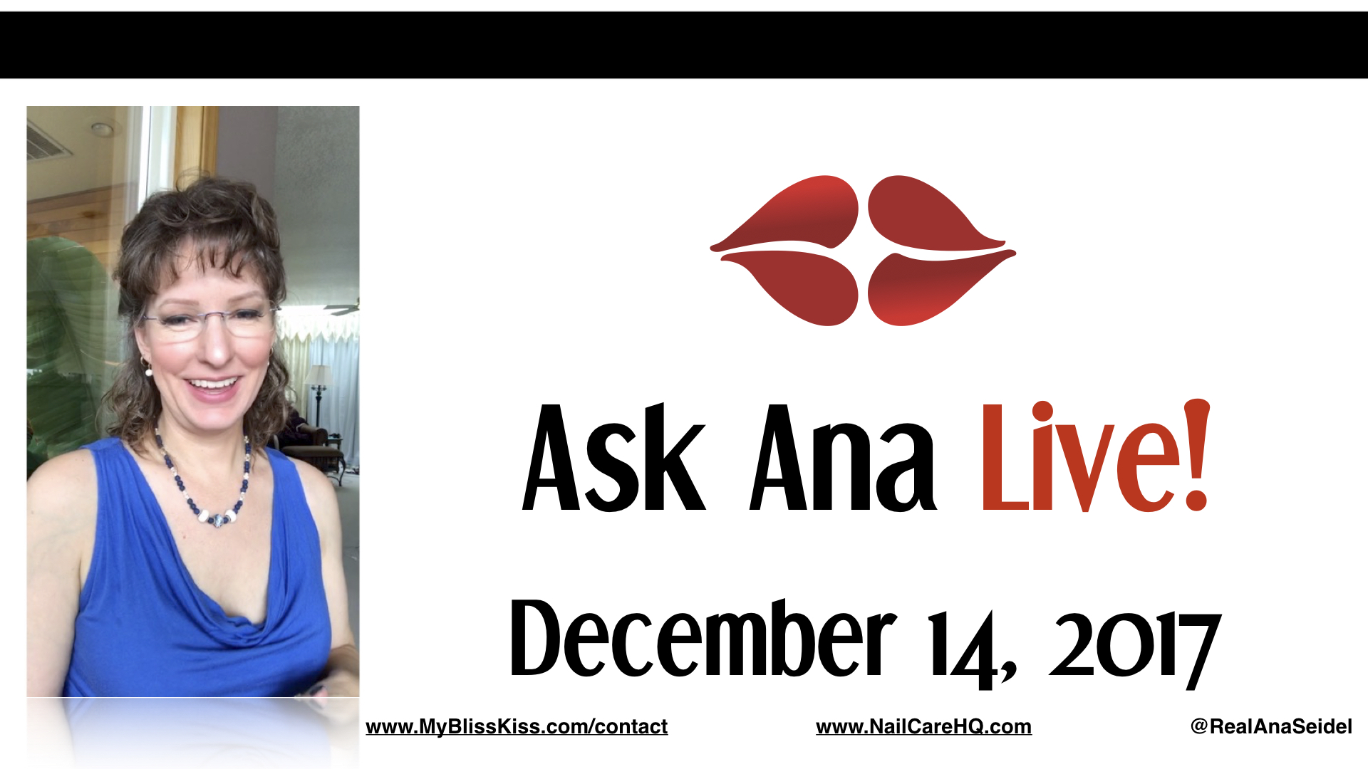 Ask Ana: Instagram Live Chat - December 14, 2017