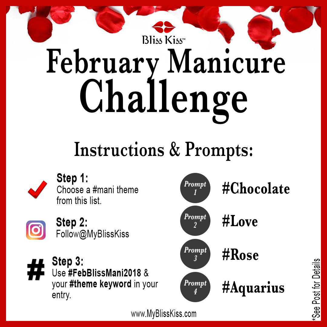 ​SIMPLY FUN! February Nail Prompt-Mani Challenge is HERE!