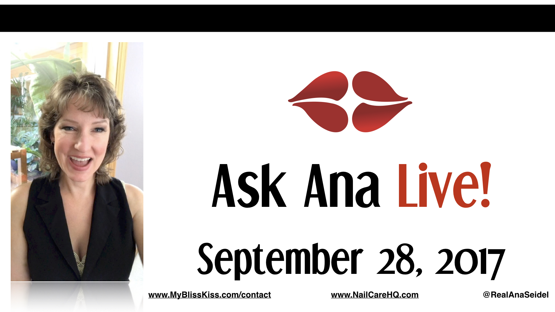 Ask Ana: Instagram Live Chat - September 28, 2018
