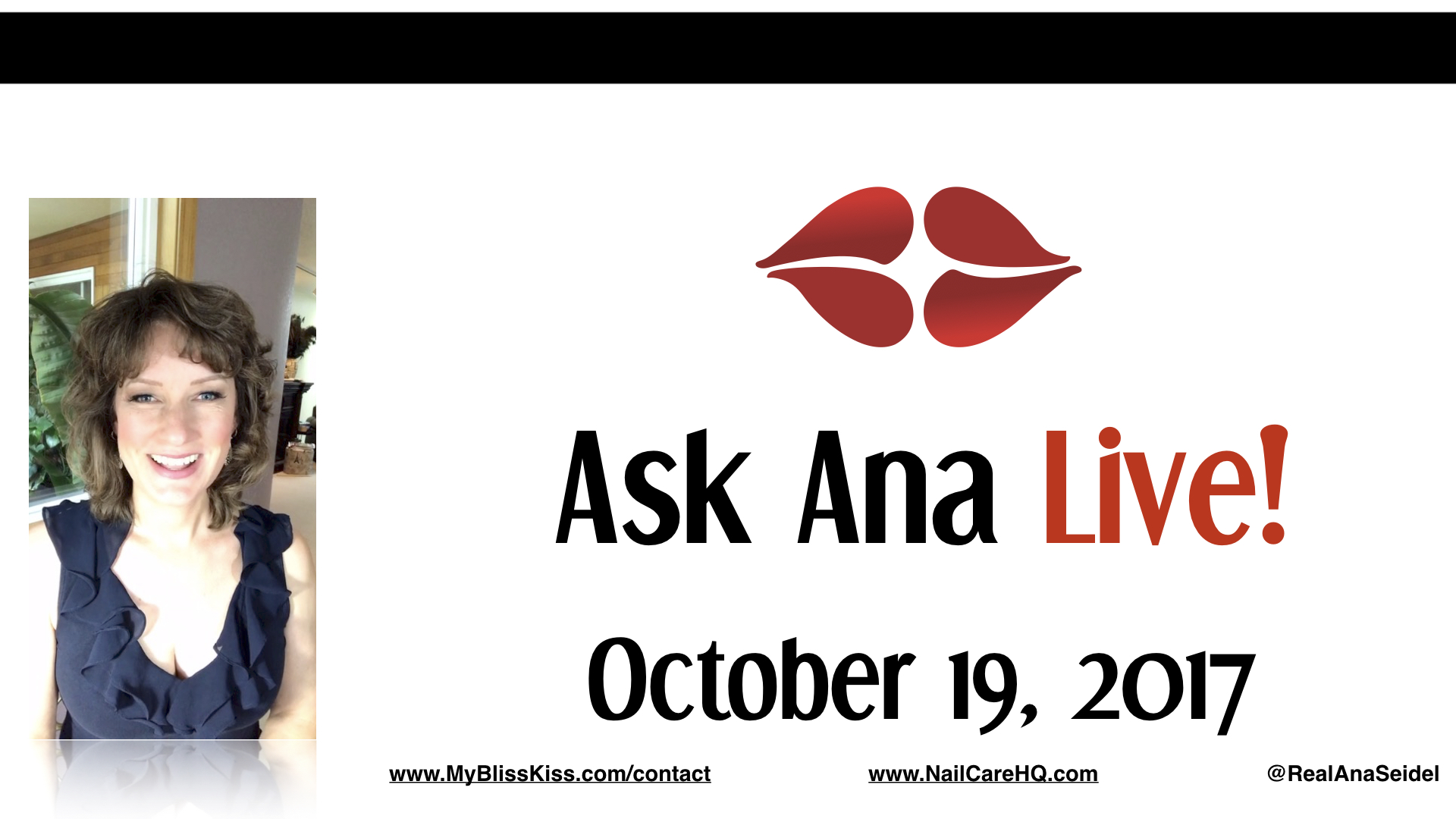 Ask Ana: Instagram Live Chat - October 19, 2017