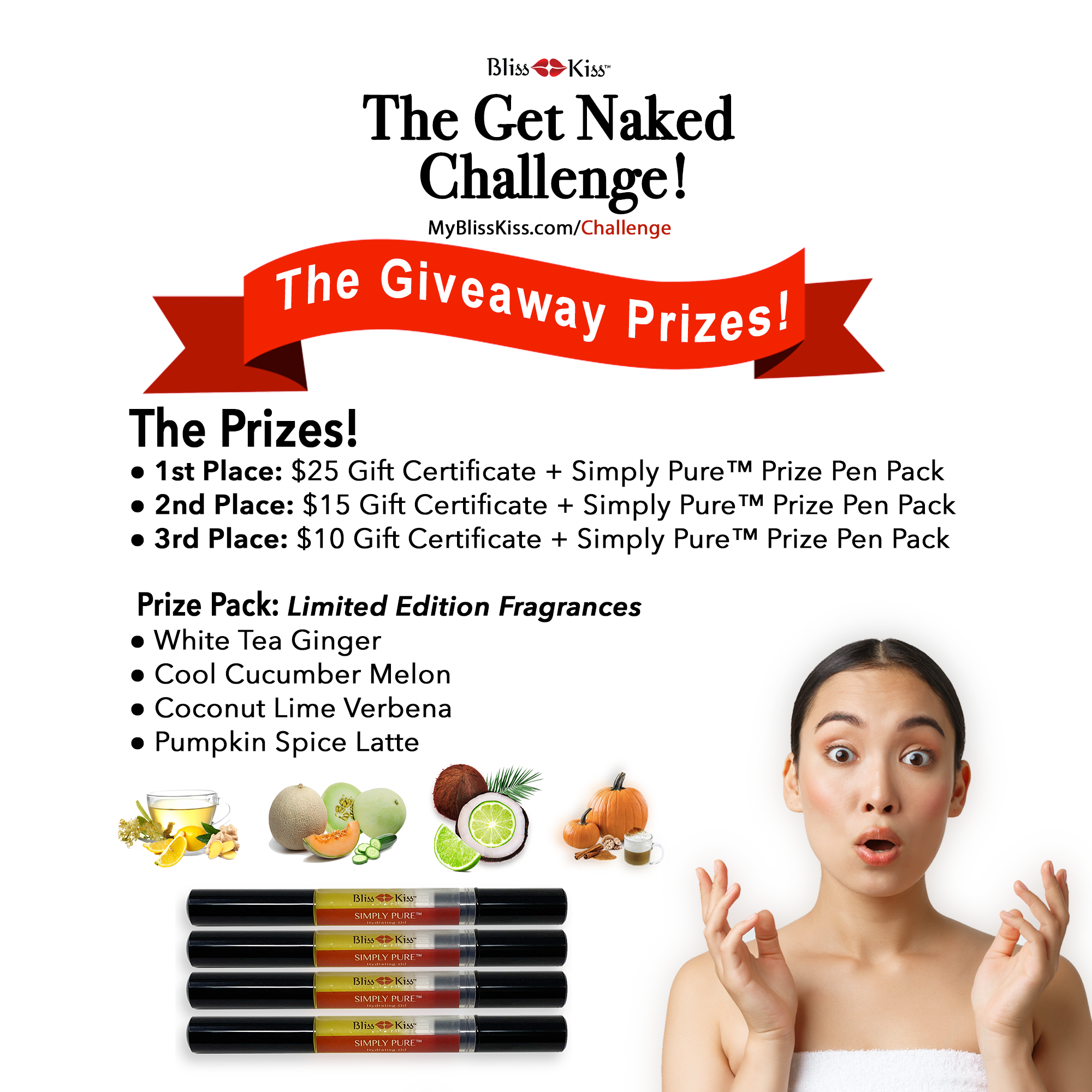 Summer 2021 Giveaway Prizes