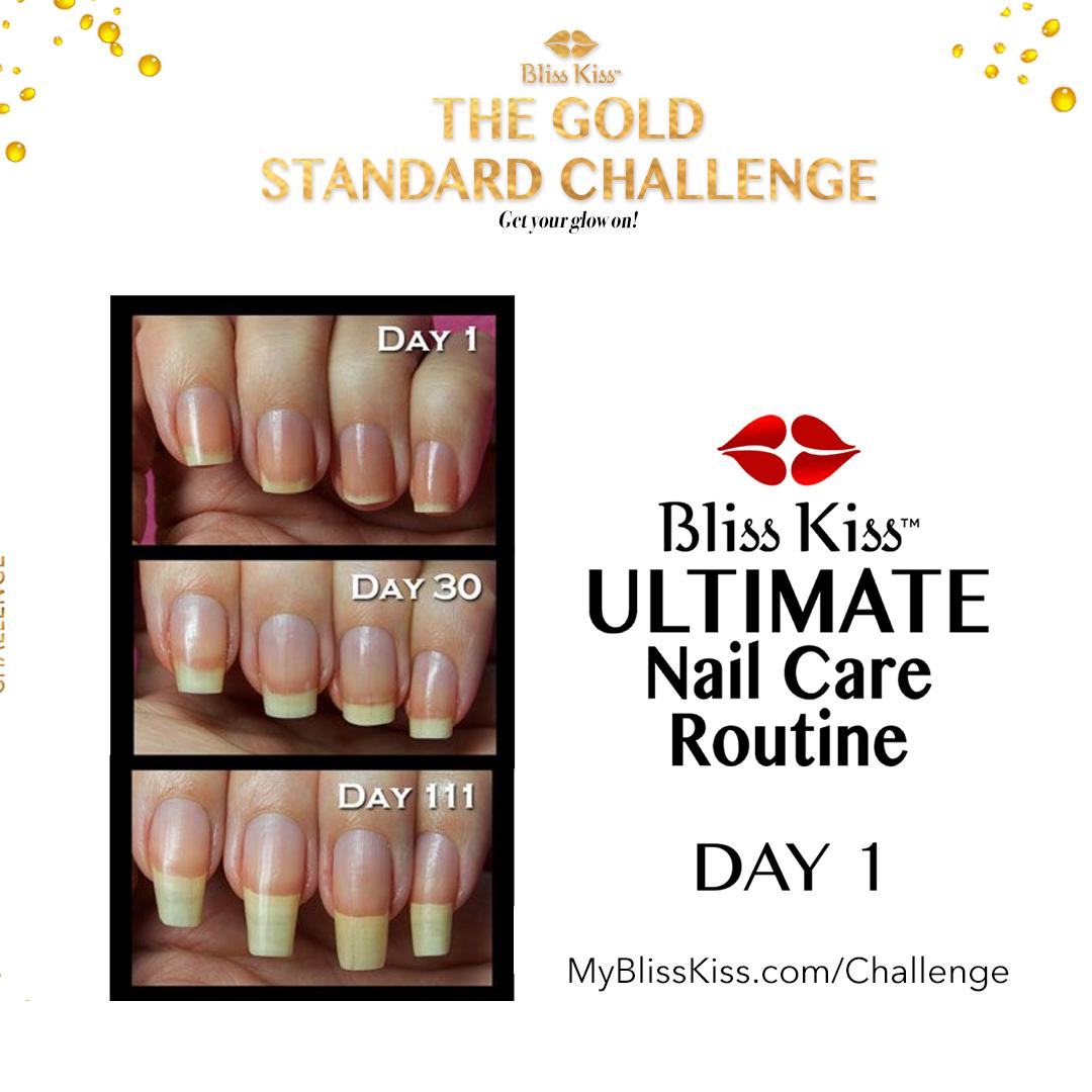 Bliss Kiss Gold Standard Challenge